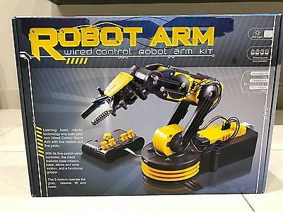 Robot Arm Kit with wired Controller