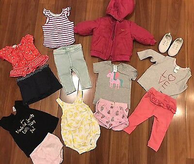 Designer Baby Girls Bundle - Size 0 incl Espirit H&M Colette Dinnigan -all EUC