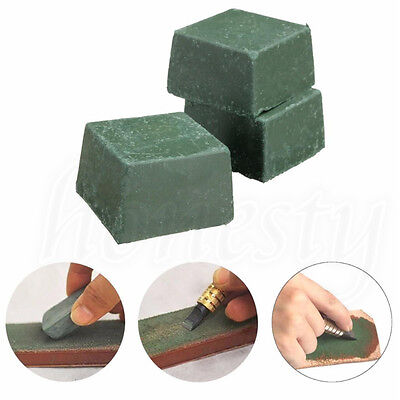 1X Leather Craft DIY Grind Polished Beeswax Paste For Maintain Leather Knife