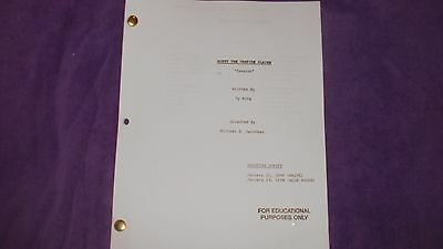 Buffy The Vampire Slayer Script - Passion - Sarah Michelle Gellar David Boreanaz
