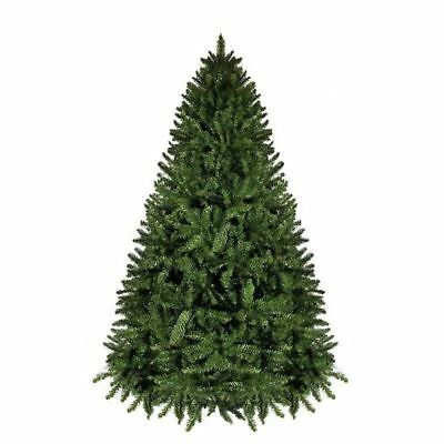 6ft 1.8m Christmas Xmas Tree Green Scandanavian Deluxe Fir 994 Tips Hinged