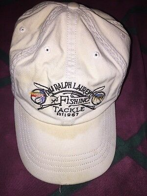 51d69635 Vintage Polo 1967 Ralph Lauren Sportsman Fly Fishing Tackle Outdoor Apparel  Hat