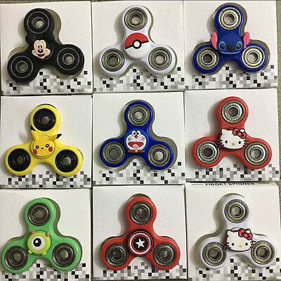 1pcs Cartoon Character Fidget Hand Spinner Spinning Top Classic Toys Hello Kitty