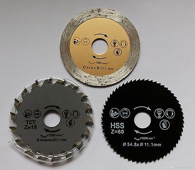 1 set rotorazer circular saw blades for rotorazer+ wood metal tile cutting disk