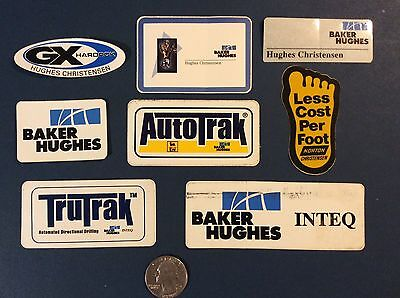 Baker Hughes Hardhat Stickers - Collectibles!