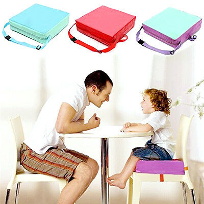 Chrilren Booster Chair Pad Dining Room Baby Kids Seat Soft Tool Cushion Cover