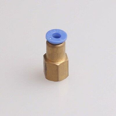 """4Pcs 1/8"""" Female Thread Quick Coupler Connector for 6mm OD Tube"""