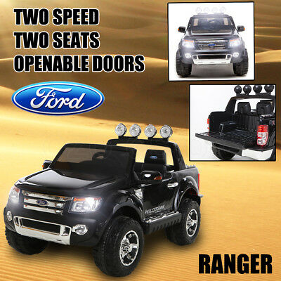 Licensed Ford Ranger Electric Kids Ride on Car Truck Children Toy Remote Trunk