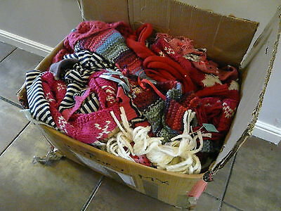 Wholesale Job Lot New Monsoon Accessorize Girls Kids Wool Winter Scarves X 107