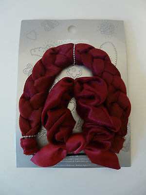 Wholesale Job Lot Mothercare Girls Velour Braided Headband Scrunchie Set X 25