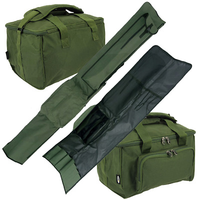 Ngt Quickfish Rod Holdall + Tackle Carryall Bag Luggage Set