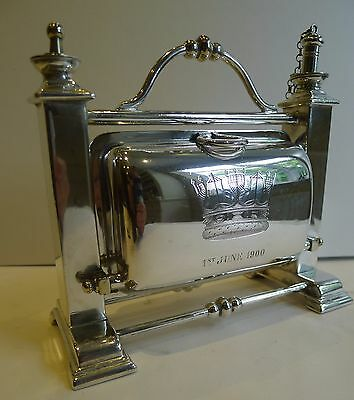 Patent Table Lighter In the Form of a Biscuit Box - Naval - Glorious 1st June