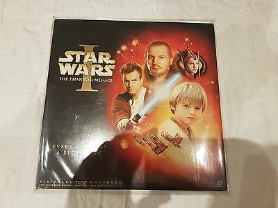 Star Wars The Phantommenace Laserdisc Thx