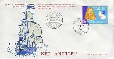 Netherland Antilles - Events, Views, & Anniversaries (7no. FDC's) 1966-82