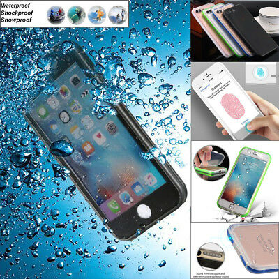 Waterproof ShockProof Dirt Proof Case Full Acces Cover For iPhone X 8 7 8 Plus