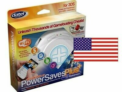 POWERSAVE PLUS for 3DS and Amiibo Perfect for Zelda BOTW, Super Smash Bros NTSC