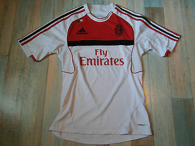 Maillot FOOT ADIDAS AC MILAN FLY EMIRATES TAILLE/S/D3 TBE