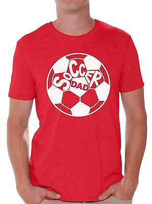 5ed90ee5b SOCCER DAD SPORT Dad T shirt Tops Gift for Him Best Soccer Player ...