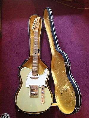 Jedson electric guitar circa 1960s with case