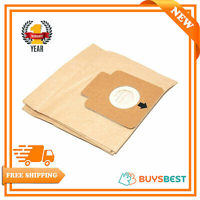 Hoover Vacuum Cleaner Capture Bags TCP2011 H58 H58C H63 Paper Dust Pack Of 5