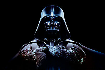 DARTH VADER WITH ARMS CROSSED STAR WARS POSTER PRINT 24x36 HI RES 9MIL PAPER