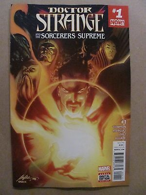 Doctor Strange And The Sorcerers Supreme #1 Marvel 2016 Series 9.6 Near Mint+