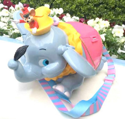 Dumbo Timothy Tokyo Disneyland Resort Popcorn Bucket Container Case Japan NEW!!
