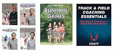 Track & Field Coaching Instructional Books and DVD Set - Free Shipping