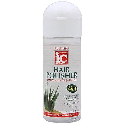 Fantasia IC Hair Polisher Daily Hair Treatment  (Enriched with Aloe) 6Oz.