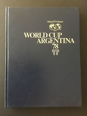 Official FIFA Report WORLD CUP 78.  GOOD CONDITION