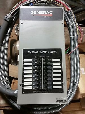 Generac 100 Amp 16-Circuit Pre-Wired Automatic Transfer Switch Load Center - New