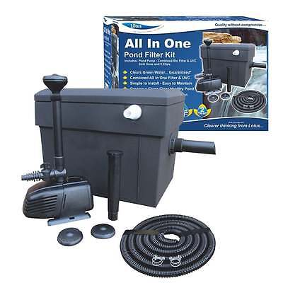 Lotus All In One Filter Kit 8000