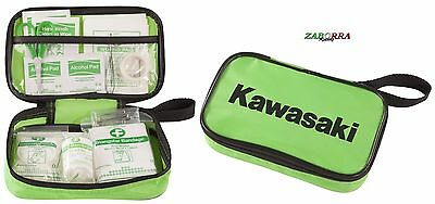 KIT PRONTO SOCCORSO KAWASAKI PORTATILE POCKET MOTO AUTO First Aid Kit 186SPM0021