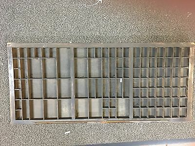 Vintage Letterpress Printers Tray Drawer - 90+ compartments