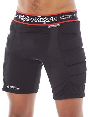 Troy Lee Designs Black LPS4600 - Hot Weather MX Protection Shorts