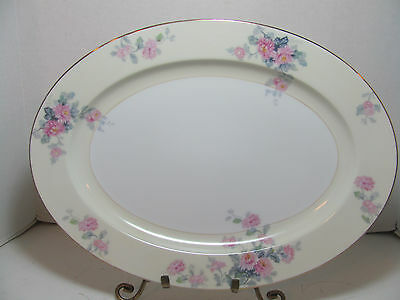 Noritake Fine China 16 Inch Oval Serving Platter