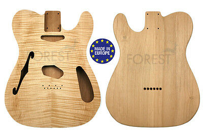 TELECASTER THINLINE 69s Body Electric guitar American Alder / Flamed maple top