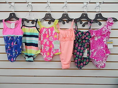 Infant & Toddler Girls Carter's 1pc Assorted Swimsuits Size 18 Months - 3T