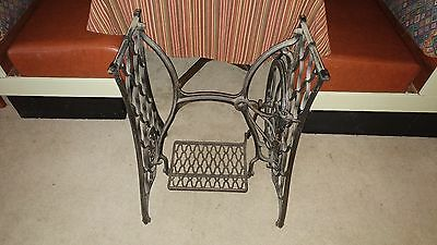 Vintage Singer Treadle Sewing Machine Cast Iron Base,