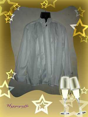 PIERRE CARDIN Chemise homme blanche manches longues Taille 42