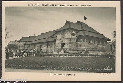 1931 PARIS EXHIBITION POSTCARD - 499 Pavillon Néerlandais