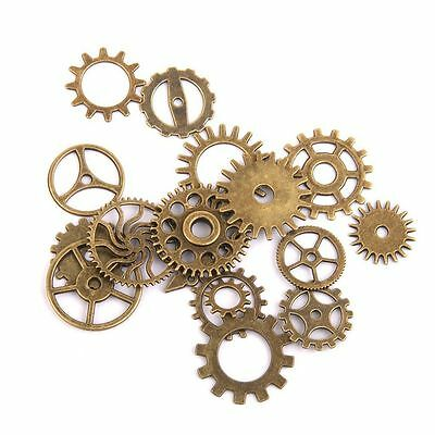Charms Steampunk Cyberpunk Watch Parts Jewelry Cogs or Gear Making Craft Art