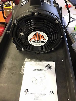 AIR SYSTEMS CVF-8EXP Confined Space Fan 1/3HP, 115VAC