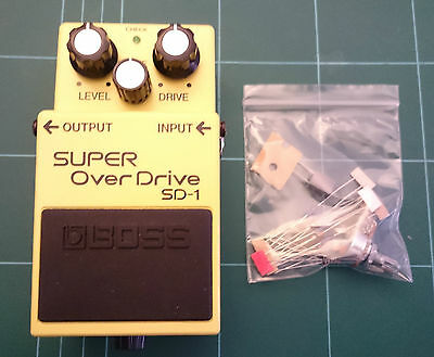 "Boss Super Overdrive SD-1 ""Tube Screamer"" Mod Kit"