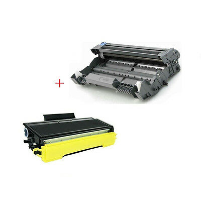 1PK Black Toner for TN-580 TN580//550 fits Brother MFC-8460N MFC8660DN MFC-8860DN