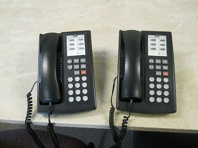 Avaya Lucent Partner 6 Button Non-Display Telephones Lot of 2