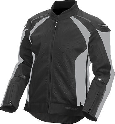 Fly Racing 477-4054X Coolpro Jacket XL Silver/Black