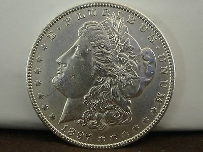 1897 $1 Morgan Silver Dollar  #137