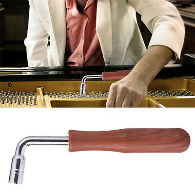 16cm L-shape Piano Tuning Hammer Dulcimer Piano Tuner Spanner Wrench Tool