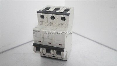 5SY63 MCB C25 5SY63MCBC25 Siemens Circuit Breaker 3 Pole ( Used and Tested )